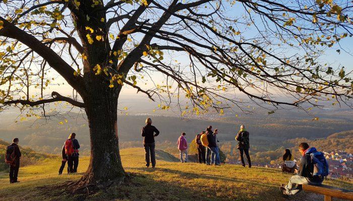 Wandern auf den Jusiberg Schwäbische Alb
