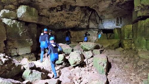 Höhlentour in der Falkensteiner Höhle