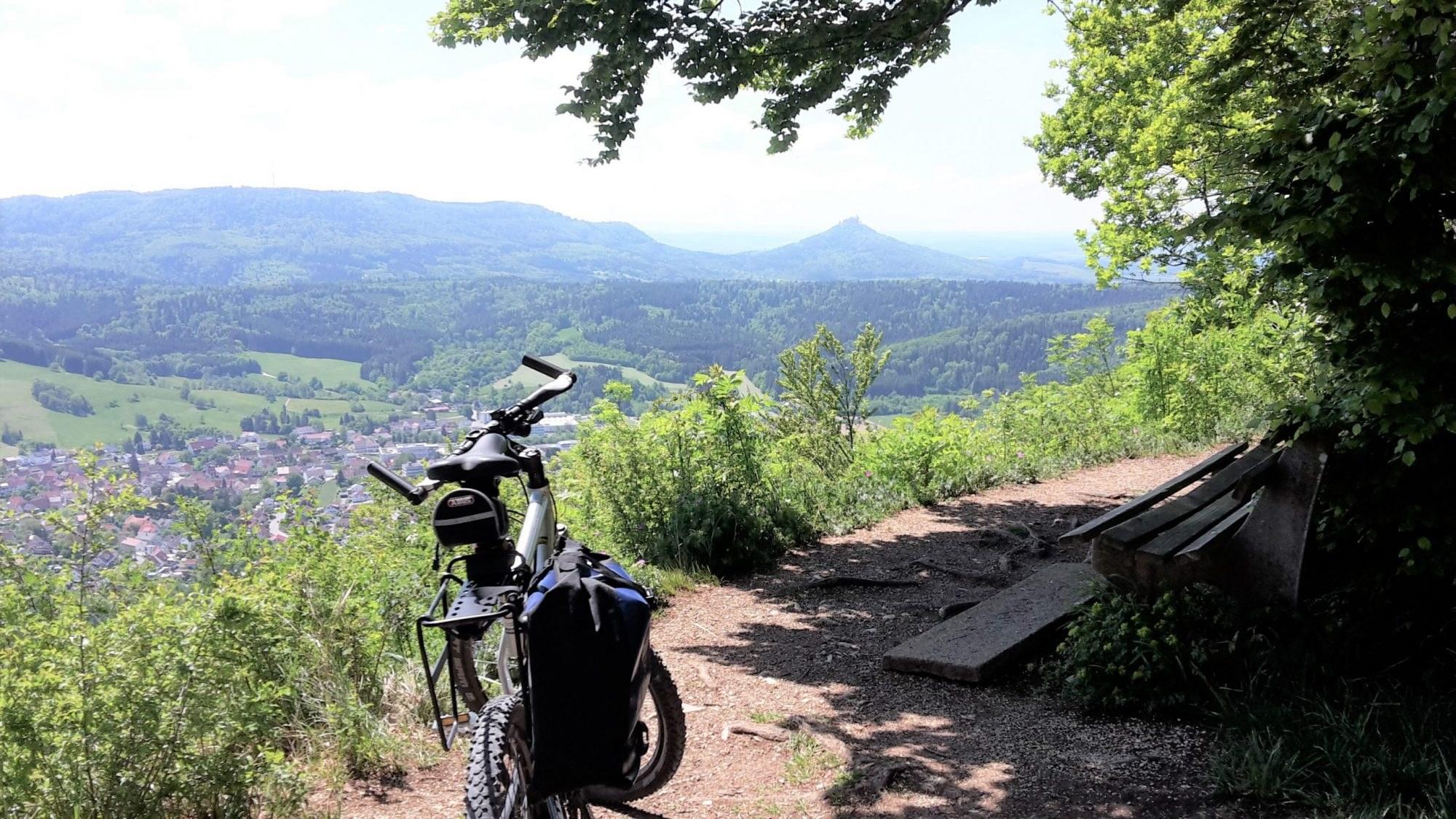 Radfahren auf dem Alb Crossing Schwäbische Alb